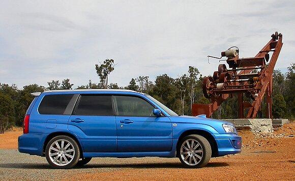 Subaru Forester STi by Ian de Boer