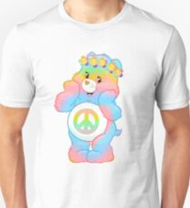 care bear hippie care bears hippie carebears carebear (remember RECYCLE all packaging it comes in) T-Shirt