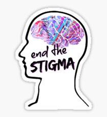 End the Stigma. Sticker