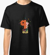 Nine Years old ninth Birthday Party Rz7rg Classic T-Shirt