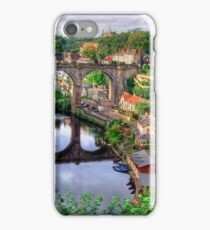 View From The Castle - Knaresborough iPhone Case/Skin