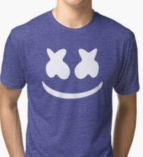 Marshmello - Black Tri-blend T-Shirt