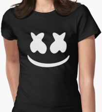 Marshmello - Black Womens Fitted T-Shirt