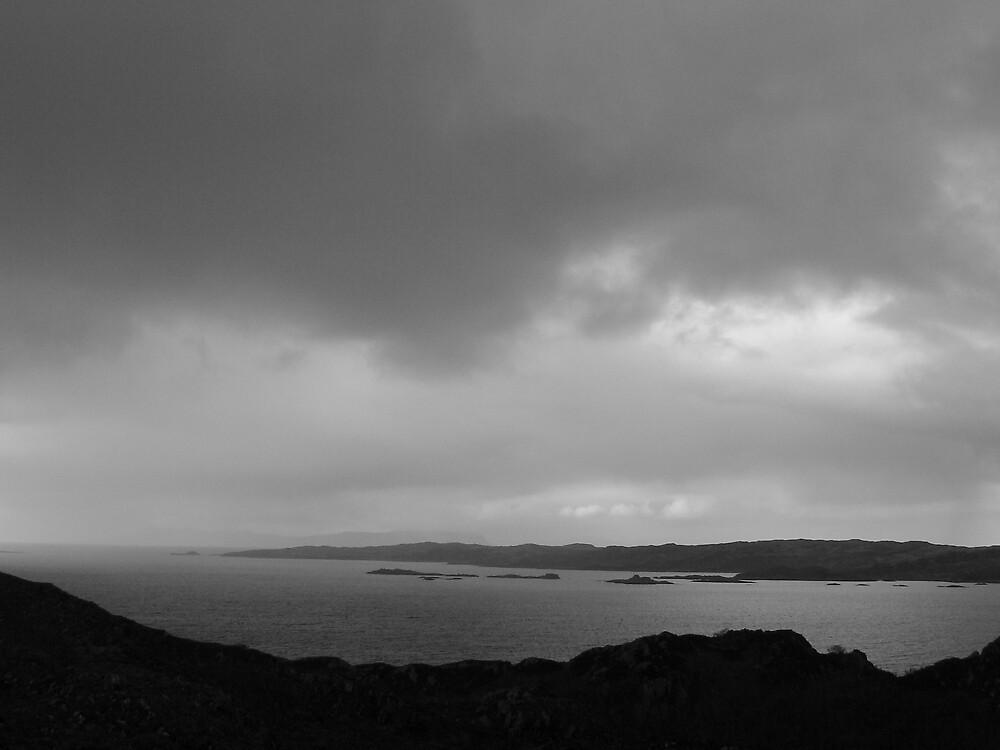 View from Ardnish by Richard  Bracken