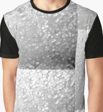 Abstract, Ice on Aluminium Graphic T-Shirt