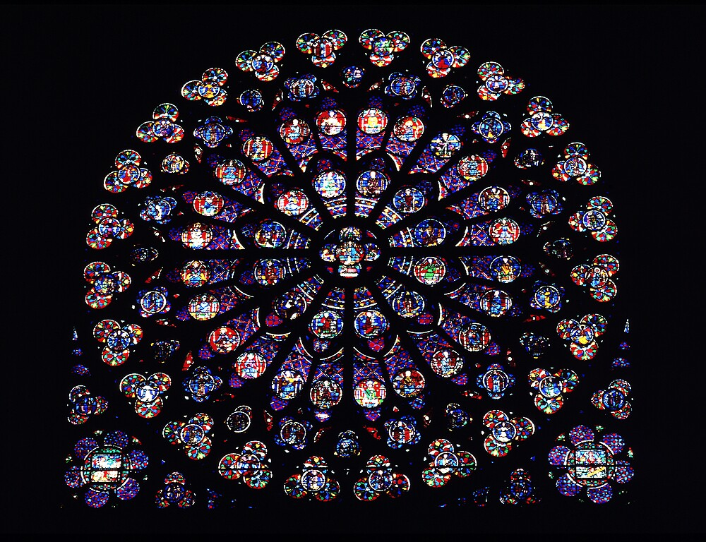 Rose Window Notre Dame by kitlew