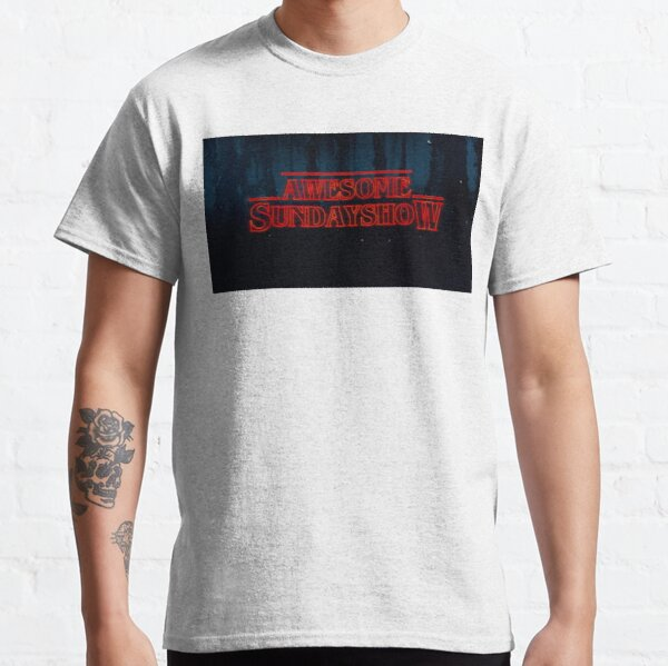 Our Logo Stranger Things Style Classic T-Shirt
