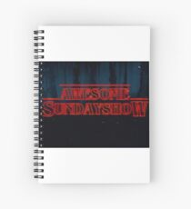 Our Logo Stranger Things Style Spiral Notebook