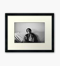 Young Obama Framed Print