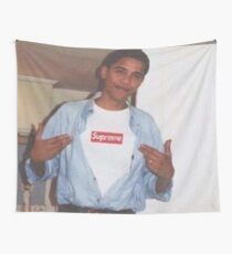 Young Obama Wall Tapestry