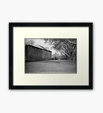 The Old Richmond Gaol Framed Print