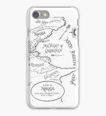 Narnia Map iPhone Case/Skin