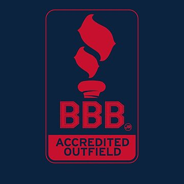 BBBjr Accredited Outfield - Benintendi, Betts, Bradley Jr. -RED by TheKidsAlright