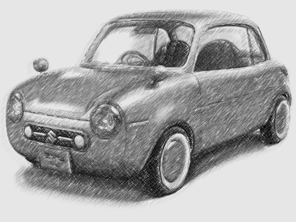 Japanese Car by Ganz