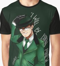 The Riddler is Coming Graphic T-Shirt