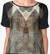 Fractal Texture Vector - Architect (CUSTOM REQUESTS WELCOME)  Chiffon Top