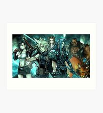 Final Fantasy Art Print