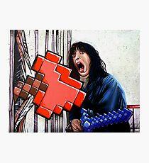 Here's Minecraft!  Photographic Print