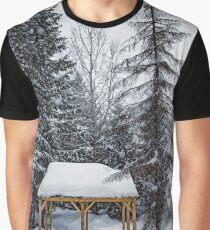Winter Gazebo Graphic T-Shirt