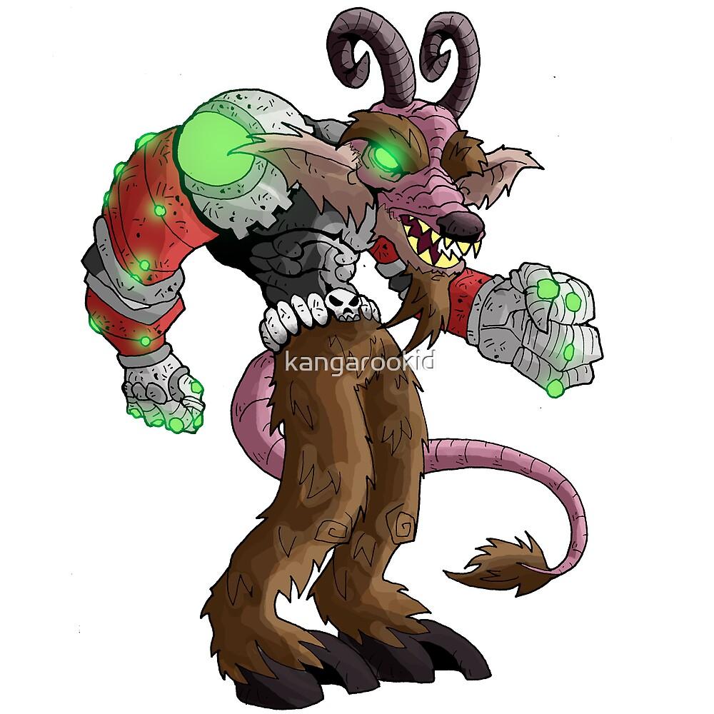 chonk: level IX demonick by kangarookid