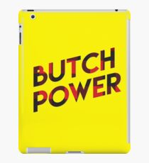 Butch Power iPad Case/Skin