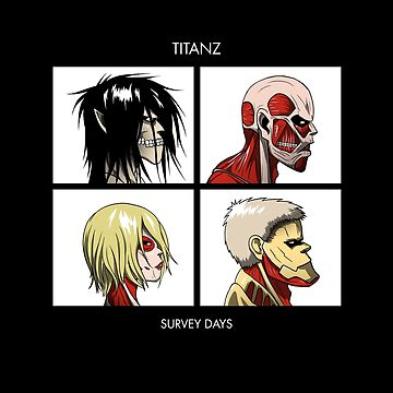 Titan Days by Crocktees