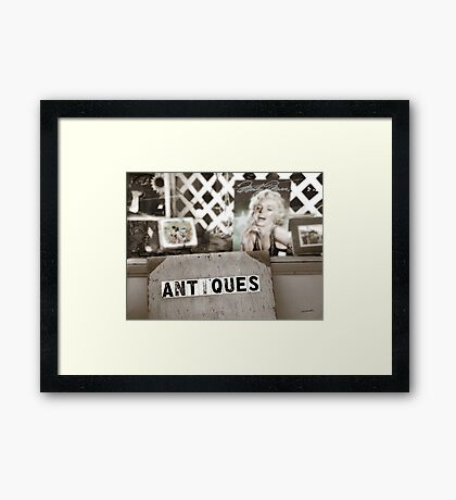 Icons of my youth Framed Print