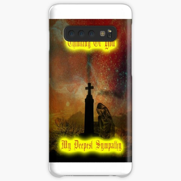 Thinking Of You - My Deepest Sympathy Samsung Galaxy Snap Case