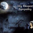 My Deepest Sympathy by GothCardz