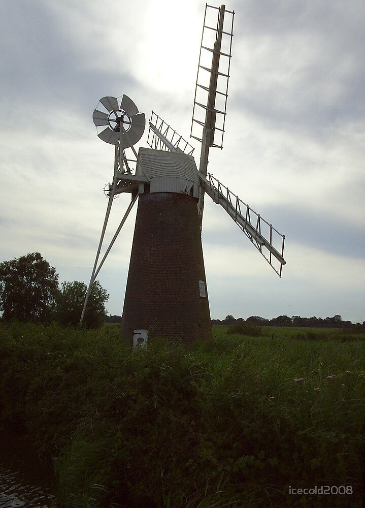 Turf Fen Drainage Mill by icecold2008