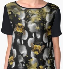 Bumble Bee Willow Chiffon Top