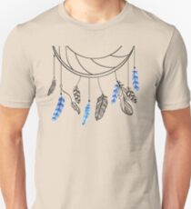 Blue Feathers T-Shirt