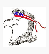 Eagle Mullet Photographic Print