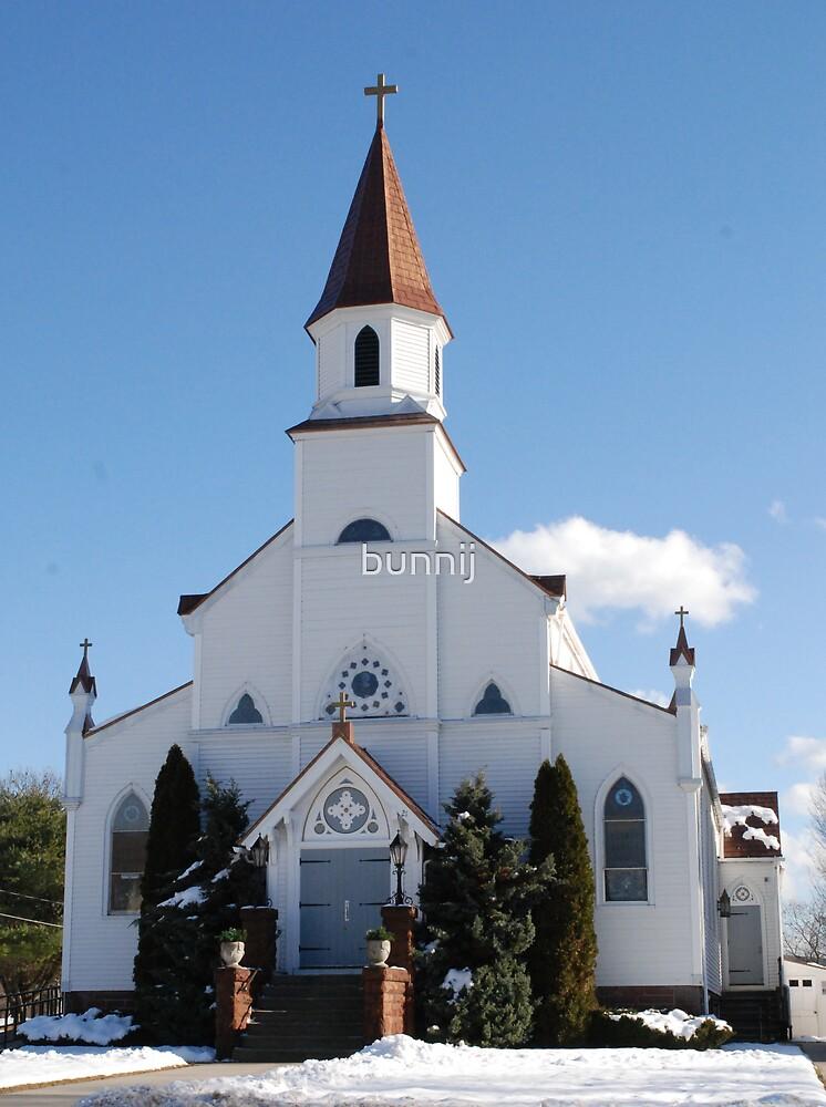 New England Church Series I by bunnij