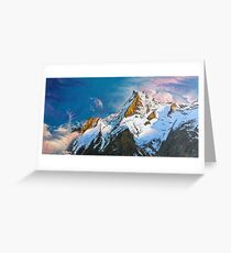 "Oil painting ""Mountain"" Greeting Card"