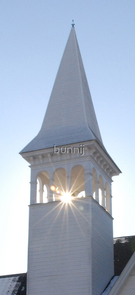 New England Church Series IV- The Steeple by bunnij