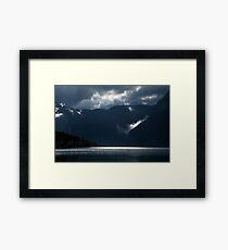 After storm light Framed Print