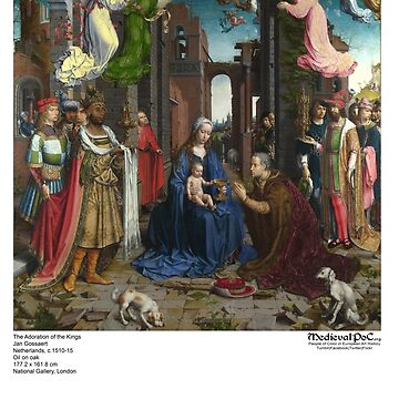 Adoration of the Kings: Gossaert by medievalpoc