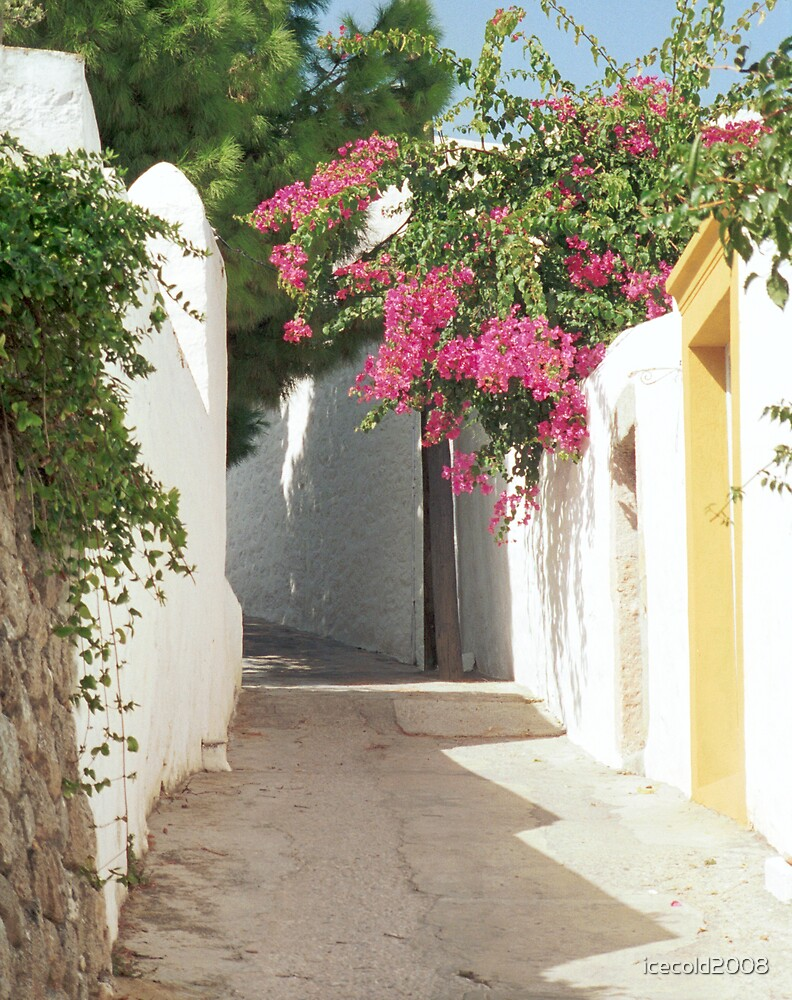 A Walk Through Patmos - Greece by icecold2008
