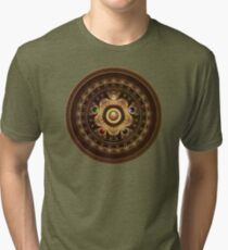Gathering the Five Fractal Colors of Magic Tri-blend T-Shirt