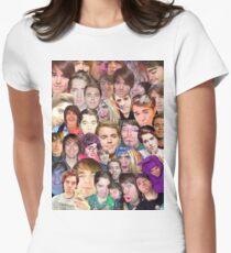 Shane Dawson Collage  Women's Fitted T-Shirt