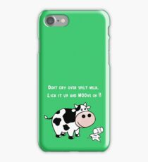Moo-ve On! iPhone Case/Skin