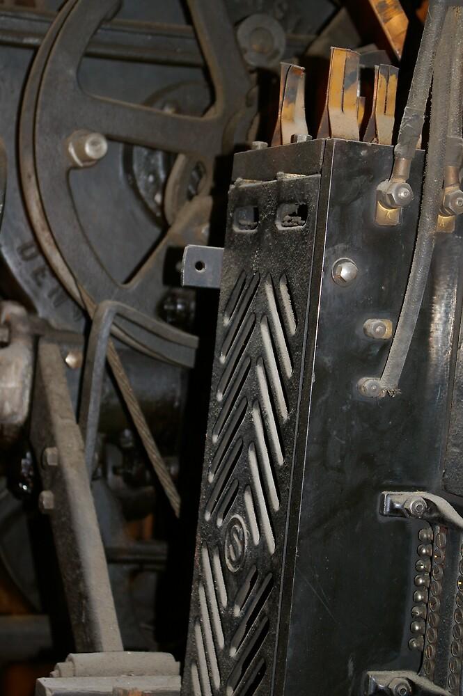 Elevator Mechanism by Kathleen Madrid