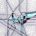 Alien Bird - Illustration  by Bruno Beach