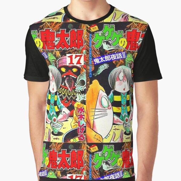 #KD Vintage Gegege No kitaro Full Print Shirt