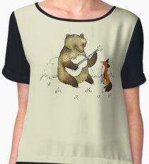 Bear & Fox Women's Chiffon Top