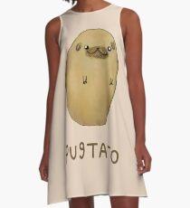 Pugtato A-Line Dress
