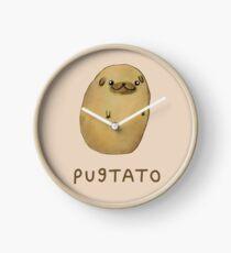 Pugtato Clock