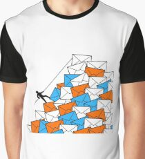 information overload too many letters Graphic T-Shirt