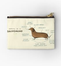 Anatomy of a Dachshund Studio Pouch
